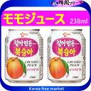 ■【ヘテすりおろし【桃】ジュース 238ml缶】■韓国食品/...