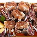 ◆冷凍◆ヤンニョムケジャン500gXカンジャンケジャン500g醤油漬け 2種類から選べる!!かに ケジャン ヤンニョムケジャン 韓国食品 韓国食材 韓国料理 ゲジャン ゲザン ケザン 2