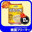 ■韓国飲料】シッケ(缶1BOX x 238MLx12個<韓国