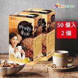 ◆【ダムト】 くるみ・アーモンド・ハトムギ茶 (18g*50包)(2個)◆【韓国お茶】韓国商品のお店/伝統お茶/韓国お土産/お中元/敬老の日