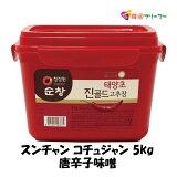 ◆スンチャン コチュジャン5KgX1個 ◆ゴチュジャン 唐辛子味噌 韓国調味料 韓国料理 韓国食材 韓国食品