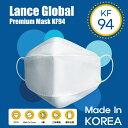 【全国送料無料】レンスグローバル プレミアム マスク KF94 10枚 大人用 立体構造 個別包装 4層構造 韓国製 コロナ対策 飛沫防止 花粉 ウイルス