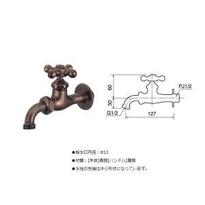 万能ホーム胴長水栓(仙徳メッキ)+泡沫アダプター(仙徳メッキ)のセットBHD13-MS+G206AD-MS送料\525