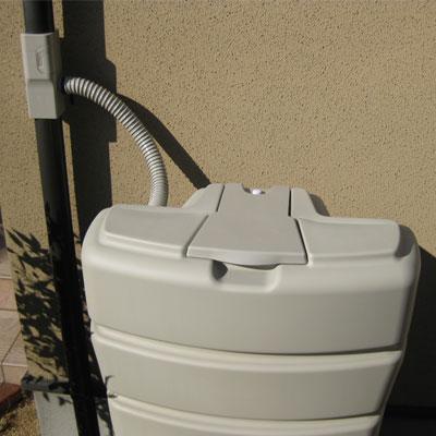 高品質コンパクト雨水タンク「まる」140L