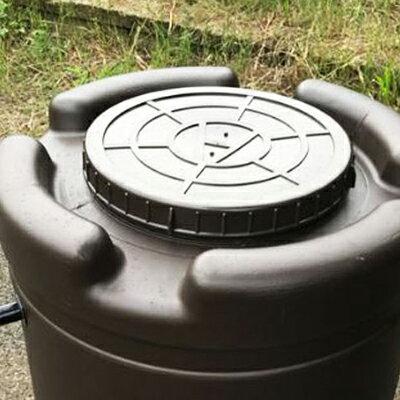 雨水タンク安全興業製雨水貯留タンク(容量185L)
