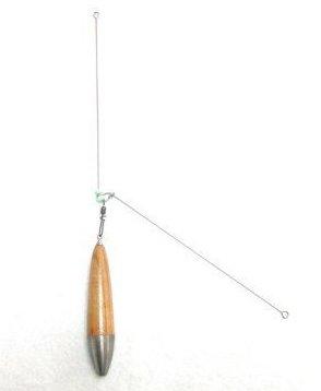 半遊動拙者てんびん Ver.2  (2個入り)腕径1mm