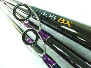 (レンタルロッド放出) シマノ キスタイプR 405BX(ST) ガイド・シート付き(紫スレッド)