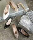 【お得なクーポン配布中】2020春夏 【送料無料】 レインシューズ レディース おしゃれ レインパンプス パンプス 靴 雨靴 晴雨兼用 防水 梅雨 梅雨対策 Vカット 痛くない 歩きやすい 脱げない ローヒール ポインテッドトゥ 履きやすい 黒 一部12月上旬入荷予定