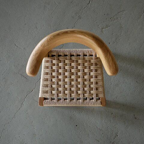 manufチャイルドチェア W38.5 オーク無垢&ペーパーコード受注生産品 納期4週間程度|北欧|和風|モダン|シンプル|デザイン||おしゃれなイス|かわいい椅子||日本製KIDSチェアー|国産キッズチェアー|