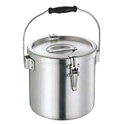 ☆ ストック 仕込み ☆ アルミ給食缶 24cm(10.0L) [ φ240 x 深さ 240mm ]