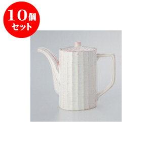 10個セット鍋用品粉引汁次(大)[10x16.5cm900cc]料亭旅館和食器飲食店業務用