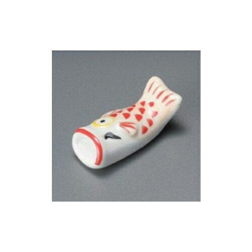 10個セット 箸置 コイノボリ箸置(赤) [5.5 x 2.5cm]   箸置き 箸置 はしおき 箸 カトラリー 食器 業務用 飲食店 カフェ うつわ 器 おしゃれ かわいい お洒落 ギフト プレゼント 引き出物 内祝い 結婚祝い 誕生日 贈り物 贈答品