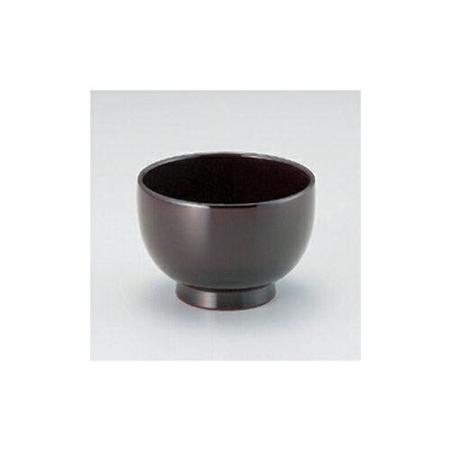 汁椀 総溜 3.6寸汁椀 [10.5 x 7.3cm]  耐熱 木合・耐熱