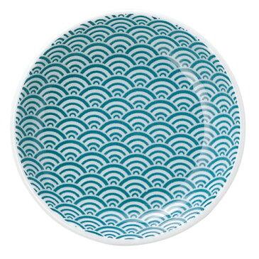 ☆ 小皿 ☆ 青海波 緑 10cm丸皿 [ D-10.3 H-1.9cm ] | 小皿 取り皿 人気 おすすめ 食器 業務用 飲食店 カフェ うつわ 器 おしゃれ かわいい ギフト プレゼント 引き出物 誕生日 贈り物 贈答品