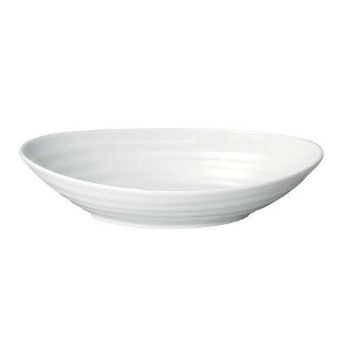 10個セット ☆ 楕円皿 ☆ 渚 リップル27.5cmオーバル [ L-27.5 S-17.5 H-6cm ]