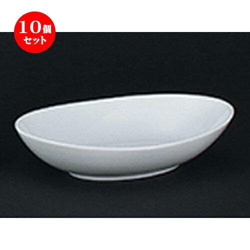 10個セット☆ 洋陶オープン ☆ コロラド 26cm厚口カレー皿 [ 26.2 x 18.8 x 5.5cm ]