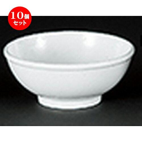 10個セット☆ 中華オープン ☆ 白粉引中華 5.0玉丼 [ 16 x 6.4cm ]