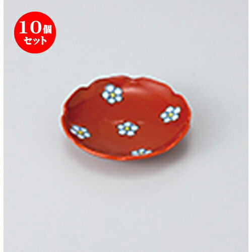 10個セット ☆ 珍味 ☆梅小紋R小皿 [ 6.2 x 1cm ]