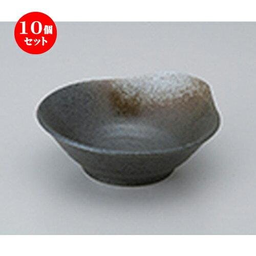 10個セット ☆ 呑水 ☆ 白吹天目呑水 [ 13.5 x 12.5 x 4.5cm ]
