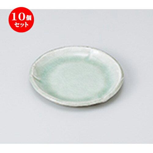 10個セット ☆ 和皿 ☆ 白化粧4.0丸皿 [ 13 x 1.5cm ]