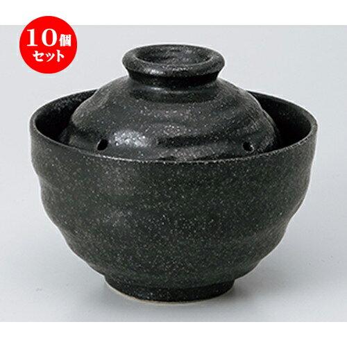 10個セット☆ ご飯鍋 ☆ 天正黒レンジ0.5合炊き [ 13.2 x 10cm ]
