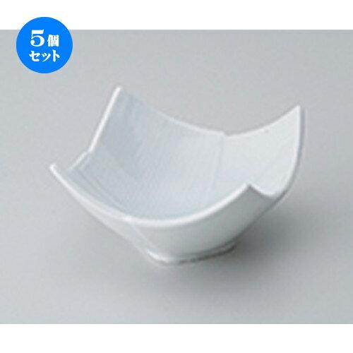 5個セット☆ 小鉢 ☆ 青磁筋入り4.0鉢 [ 11 x 11 x 6cm ]