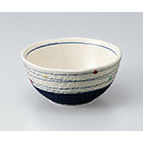 5個セット☆ 小鉢 ☆ 点彩渦4.0ボール(紺) [ 12 x 6cm ]