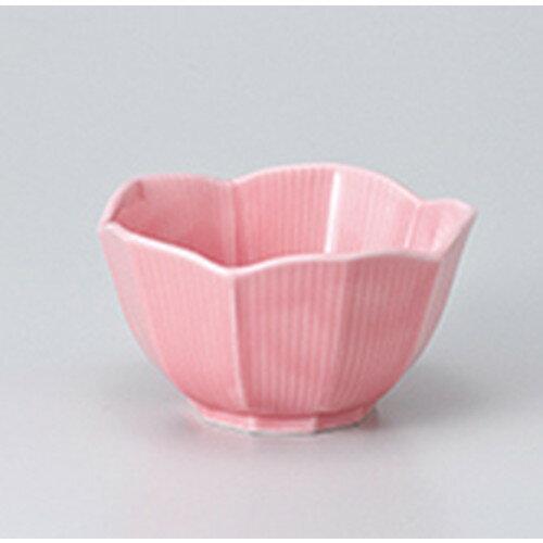 5個セット☆ 小鉢 ☆ 桔梗型小鉢(小) ピンク [ 8.3 x 4.8cm ]