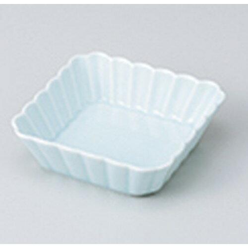 5個セット☆ 小鉢 ☆ 菊割 青白 11cm浅角皿 [ 11.3 x 3.2cm ]