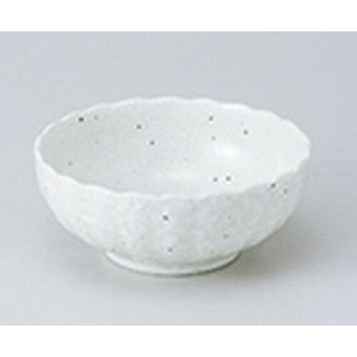 5個セット☆ 小鉢 ☆ 菊型4.0ボール 白 [ 12.4 x 5.2cm ]