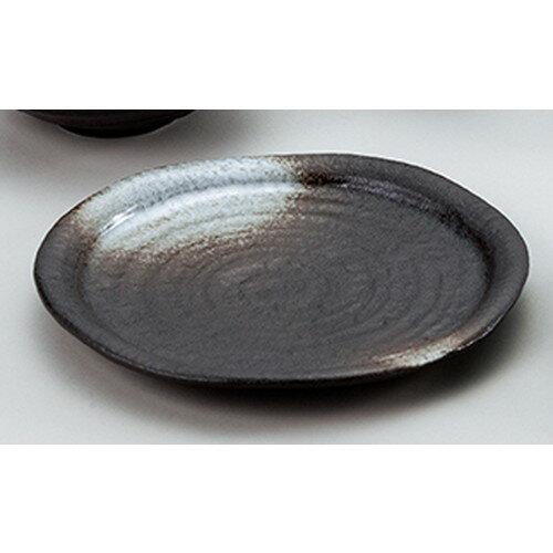 5個セット☆ 和陶オープン ☆ 潮騒 丸8.0リムパスタ皿 [ 24.5 x 2.3cm ]