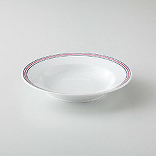 10個セット☆ 洋陶オープン ☆ スリーライン(ブルー) TA72スープ [ 18 x 3.3cm ]