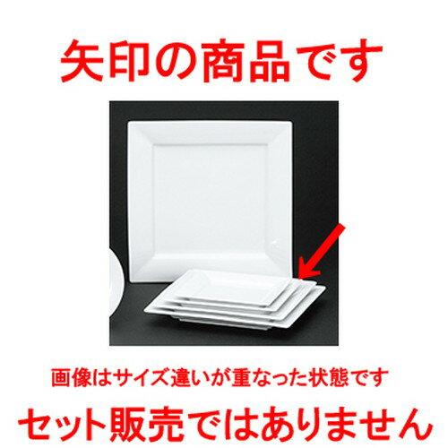 10個セット☆ 洋陶オープン ☆ フレスコ 18.5cmリムスクエアープレート [ 18.5 x 18.5 x 2.3cm ]