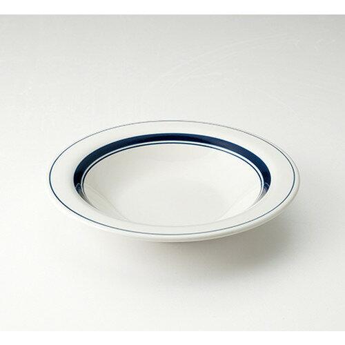 5個セット☆ 洋陶オープン ☆ スノートン ブルー 8吋スープ [ 21.1 x 3.7cm ]