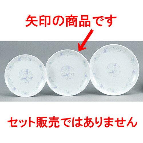 5個セット☆ 中華オープン ☆ 天紅(強化UW) 71/2吋丸皿 [ 19 x 2.3cm ]