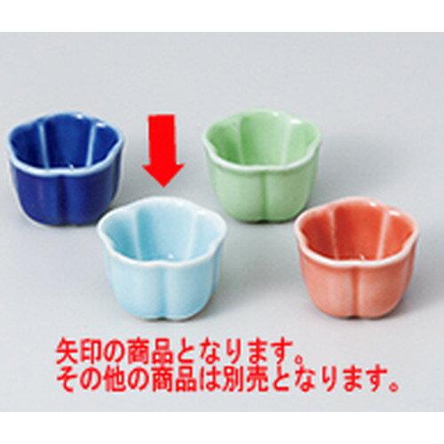 10個セット ☆ 珍味 ☆青磁花型珍味 [ 3.5 x 2.5cm ]