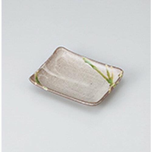 10個セット☆ 焼物皿 ☆粉引グリンのり皿 [ 13.9 x 11.2 x 2.4cm ]
