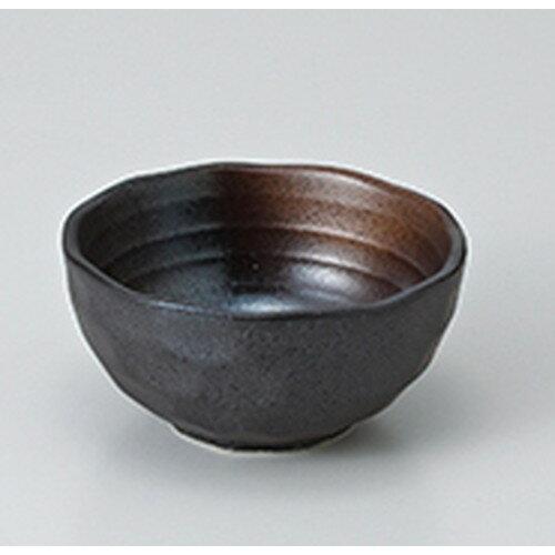 10個セット ☆ 小付 ☆金茶吹 石垣9cm小鉢 [ 9.5 x 4.5cm ]