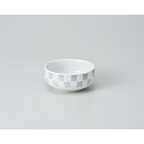 3個セット☆ 珍味 ☆市松丸珍味鉢 白 [ 7.5 x 3.3cm ]