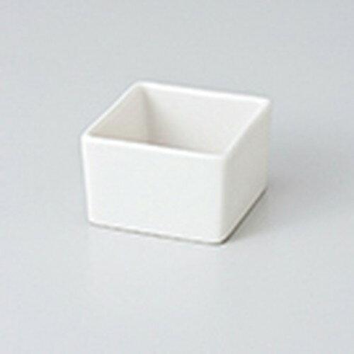 3個セット☆ 珍味 ☆角型珍味入 白 [ 5.7 x 5.7 x 3.7cm ]