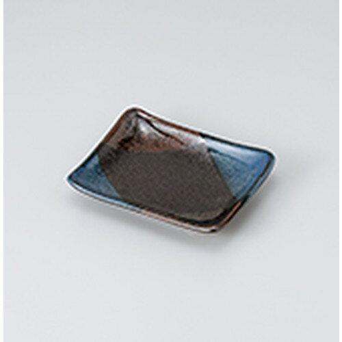 10個セット☆ 焼物皿 ☆青炎のり皿 [ 13.9 x 11.2 x 2.4cm ]
