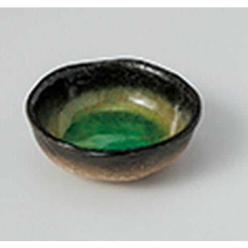 5個セット ☆ 小付 ☆藍染ヒワ丸千代口 [ 8.2 x 3cm ]