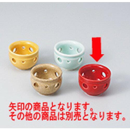 10個セット ☆ 珍味 ☆赤透かし珍味 [ 5.4 x 3.8cm ]