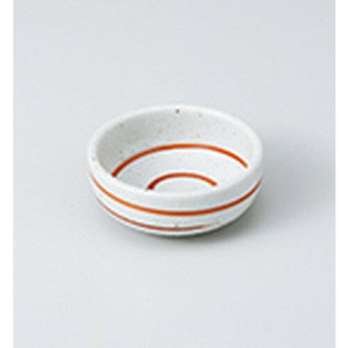 3個セット☆ 珍味 ☆白粉引内外渦巻珍味鉢 [ 6.7 x 2.7cm ]
