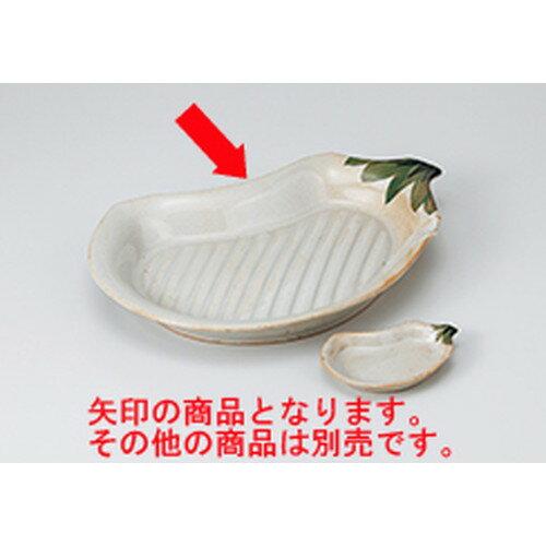 10個セット ☆ 焼物皿 ☆ナス型焼物皿 [ 27.7 x 18.5 x 3.5cm ]