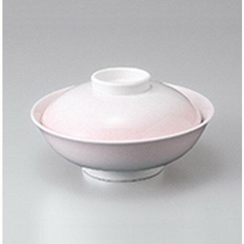 10個セット ☆ 蓋物 ☆ ピンク吹平蓋向 [ 16.7 x 9cm ]