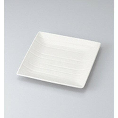 10個セット☆ 和皿 ☆ ソニック正角皿大(白) [ 22.2 x 22.2 x 2.0cm ] 【 料亭 旅館 和食器 飲食店 業務用 】