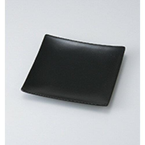 10個セット☆ 和皿 ☆ 黒正角大皿 [ 22.7 x 22.7 x 3.2cm ] 【 料亭 旅館 和食器 飲食店 業務用 】