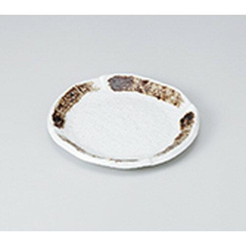 10個セット ☆ 和皿 ☆ 粉引茶刷毛丸6.0皿 [ 18.3 x 2.3cm ] 【 料亭 旅館 和食器 飲食店 業務用 】
