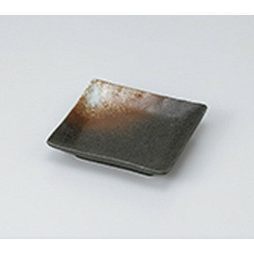 10個セット ☆ 和皿 ☆ 白吹天目正角小皿 [ 12.5 x 12.5 x 2.5cm ]